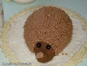 """Детский торт """"Ёжик"""""""
