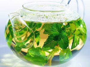 Летние напитки. Зеленый чай.