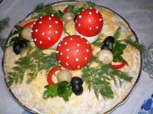 Ароматные блюда из грибов.