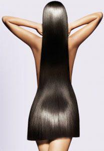 Сила красоты женских волос.