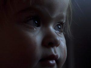 Детские слезы.