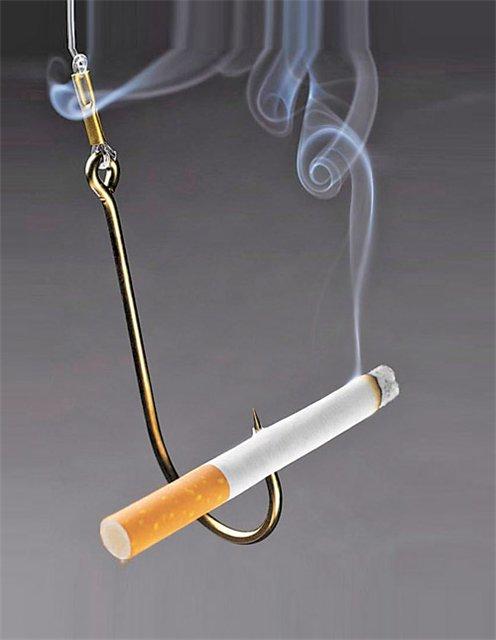 Курение - отрицание себя.