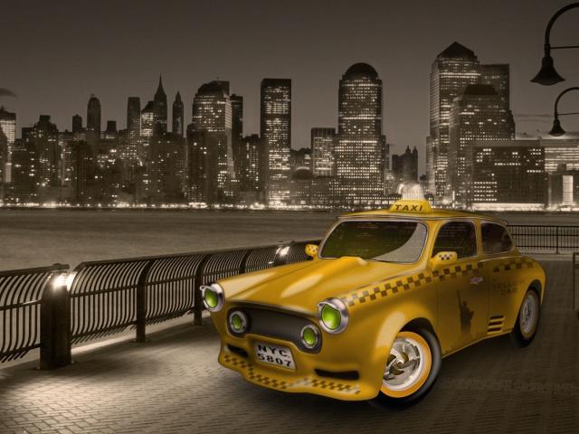 Пассажир такси.