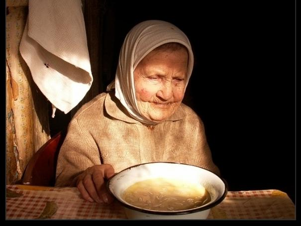 Бутылочная бабушка
