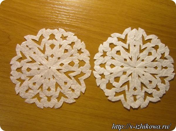 Белоснежные снежинки
